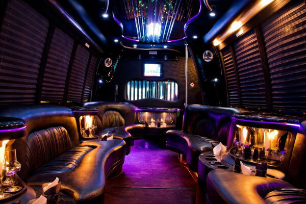 15 Person Party Bus Rental Nashville