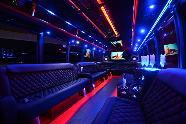 40 Person Party Bus Rental Nashville